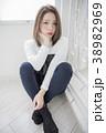 女性 ポートレート 女の子の写真 38982969