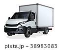 ベクトル トラック テンプレートのイラスト 38983683