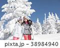 スキー スノーボード 樹氷 38984940