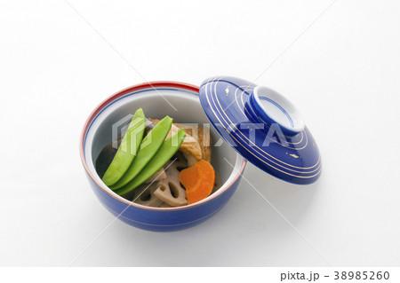日本料理野菜の炊合せ 38985260