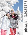 スキー スノーボード 樹氷 38985373