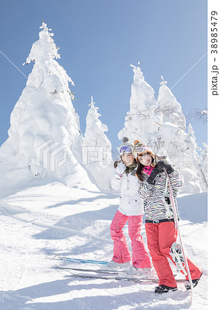 スキー スノーボード 樹氷 38985479