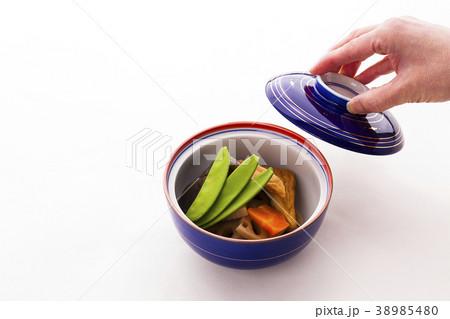 日本料理野菜の炊合せ 38985480