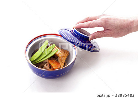 日本料理野菜の炊合せ 38985482