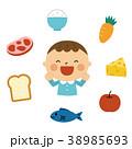 食べ物と男の子 38985693