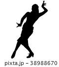ダンス 踊る ダンシングのイラスト 38988670