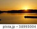 賢島の夕陽 38993004