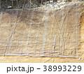 急斜面の金網型枠工の下地としてラス張りをします 38993229
