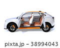 自動車 インテリア SUVのイラスト 38994043