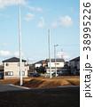 宅地造成地に電柱が建てられました 38995226