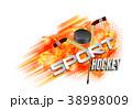 ホッケー スポーツ ベクタのイラスト 38998009