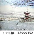 清水寺雪景 清水寺 京都観光 38999452