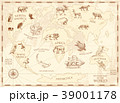 地図 ワールド 世界のイラスト 39001178