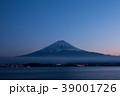 富士山 夕暮れ 夕景の写真 39001726