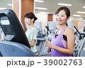 フィットネス スポーツジム 女性 エクササイズ フィットネスクラブ 39002763