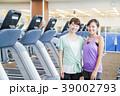 フィットネス スポーツジム 女性 エクササイズ フィットネスクラブ 39002793