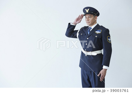 働く警備員 39003761
