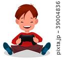 テレビゲーム 幼い 遊ぶのイラスト 39004836