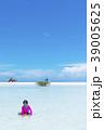 砂浜 ビーチ 人物の写真 39005625