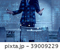 ビッグデータ クラウド ビジネスの写真 39009229