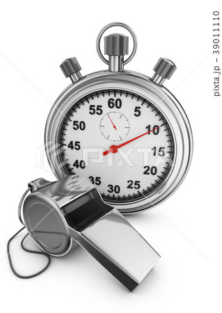 whistle and stopwatch 39011110