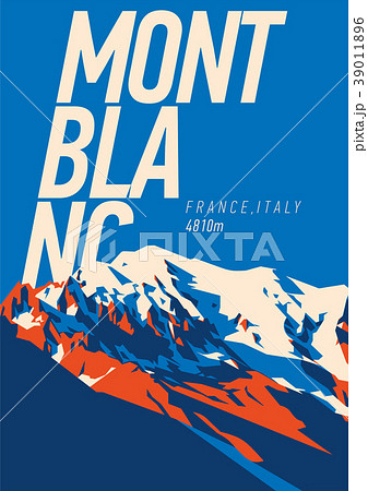 MontBlanc in Alps, France, Italy outdoor adventure 39011896