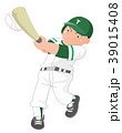 野球 打つ 少年野球のイラスト 39015408
