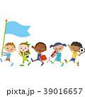 子供 習い事 行進のイラスト 39016657
