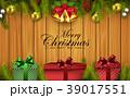 クリスマス バックグラウンド 背景のイラスト 39017551