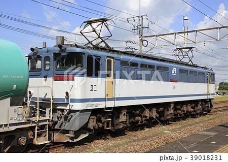 倉賀野駅側線に留置中のガソリン貨物列車 39018231