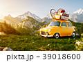 山 車 自動車のイラスト 39018600
