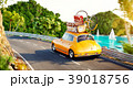 車 自動車 トラベルのイラスト 39018756