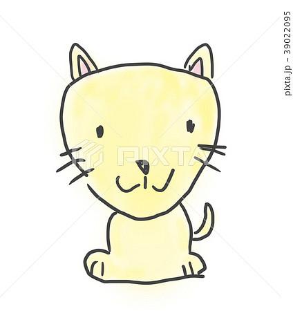 ワンちゃんかわいいゆるい動物キャラ子供の落書き風イラストのイラスト