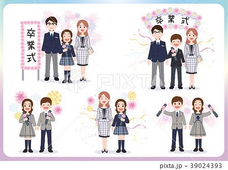 中学校卒業式イメージ集05 39024393