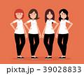 グループ 人々 人物のイラスト 39028833