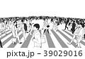 横断歩道 人々 人物のイラスト 39029016