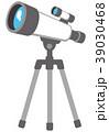 望遠鏡 天体望遠鏡 ベクターのイラスト 39030468