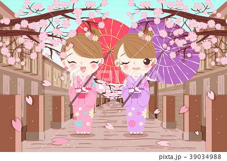 woman wear kimono 39034988