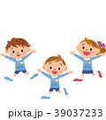 元気 園児 子供のイラスト 39037233