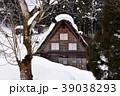 世界文化遺産 冬 白川郷の写真 39038293