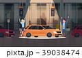 車 自動車 乗り物のイラスト 39038474