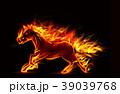炎 火焔 火炎のイラスト 39039768