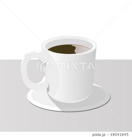 コーヒーカップ(コースター) 39041645