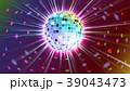 抽象的 ボール 玉のイラスト 39043473