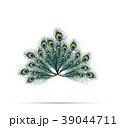 孔雀 ピーコック 抽象化のイラスト 39044711
