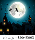 ハロウィン 魔女 ホラーのイラスト 39045093