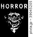 怖い 恐い 恐ろしいのイラスト 39045205
