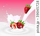 いちご イチゴ 苺のイラスト 39045728