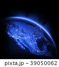地球 街の灯り 街明かりのイラスト 39050062