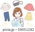 ファッション スマホ ショッピングのイラスト 39051282